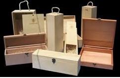 cajas de madera para vino