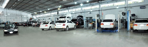 taller especializado en Mercedes Benz