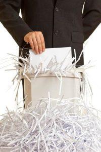 destruccion documentos en España - mudanzas baratas Madrid